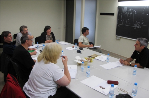 Participants in a work session